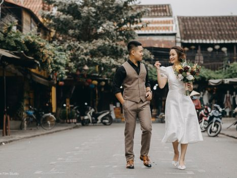 The Prewedding in Hoi An & Studio of Phuong – Linh