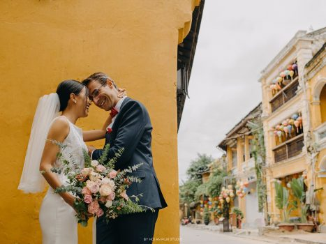 Pre-wedding photos of Christian & Chau – Hoi An Photographer