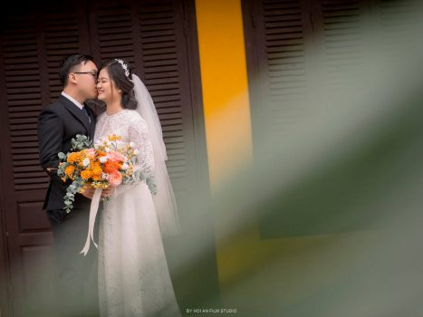 Vintage Pre-wedding shooting- Hoi An Photographer